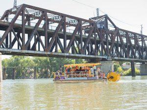 Sacramento River Private and Public boat tours.