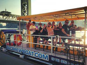 Sac Brew Boat